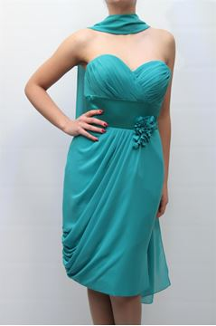 Picture of DRESS GLAMOUR WOMAN DX1357ST VERDE