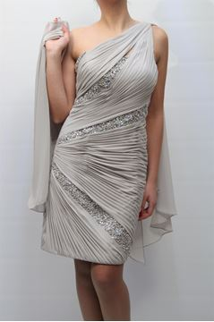 Picture of DRESS GLAMOUR WOMAN SP3353 GRIGIO PERLA
