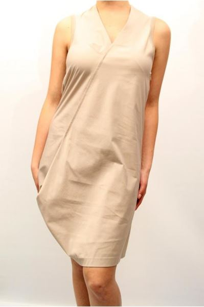 Picture of DRESS BRUNELLO CUCINELLI WOMAN M0P18A4726 BEIGE