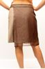 Picture of SKIRT BRUNELLO CUCINELLI WOMAN M0W06G2049 MARRONE