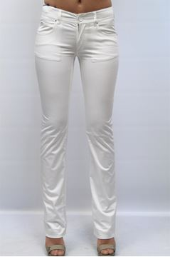 Picture of JEANS ARMANI JEANS WOMAN M5J15 FZ BIANCO