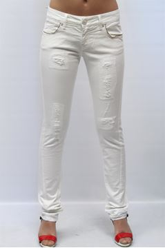 Picture of JEANS PINKO WOMAN CARAMBOLA BIANCO