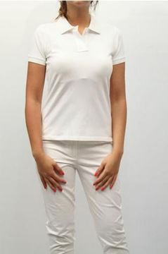 Picture of POLO AQUASCUTUM WOMAN JRSL/20 48 BIANCO