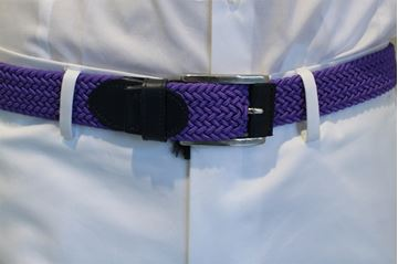 Picture of BELT LES COPAINS MAN LRL07 VIOLA