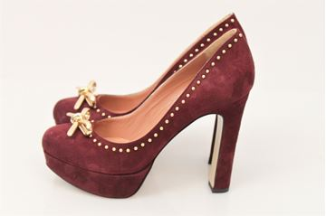 Picture of SHOES TWIN-SET WOMAN CTA3ED VIOLA BORDEAUX
