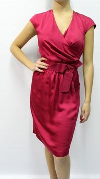 Picture of DRESS MOSCHINO WOMAN WVB4100T6917 ROSSO