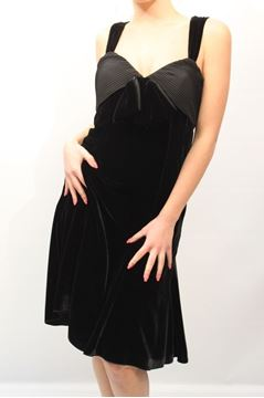 Picture of DRESS ARMANI COLLEZIONI WOMAN BMA53T BM815 NERO