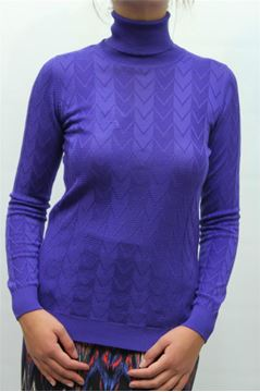 Picture of JERSEY MISSONI WOMAN FDA905A0 BLU