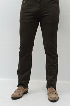 Picture of PANTS HENRY COTTON'S MAN 12484 MARRONE