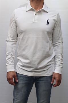Picture of POLO RALPH LAUREN MAN 318KFLS1 BIANCO
