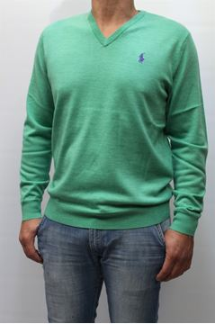 Picture of JERSEY RALPH LAUREN MAN 342SF402 VERDE