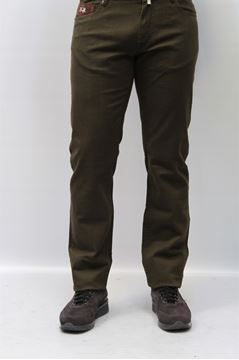 Picture of PANTS LA MARTINA MAN 421 PELLI MARRONE