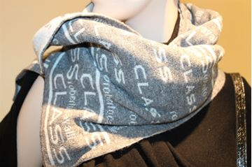Picture of SCARF CLASS ROBERTO CAVALLI WOMAN 12I CX 562 GRIGIO