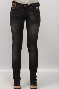 Picture of JEANS ROY ROGER'S WOMAN FLEUR QUINA NERO