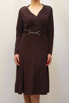 Picture of DRESS MARTA PALMIERI WOMAN I8.M607R VIOLA