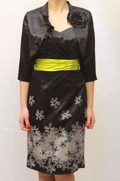 Picture of DRESS & JACKET GLAMOUR WOMAN SP3415J NERO