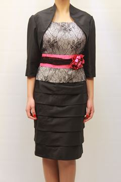 Picture of DRESS & JACKET GLAMOUR WOMAN SP3410J NERO