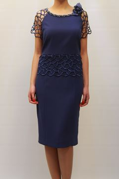 Picture of DRESS CURVY ALLURE WOMAN 2015 78 BLU