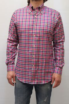 Picture of SHIRT RALPH LAUREN AN 304IW503 QUADRI FUXIA
