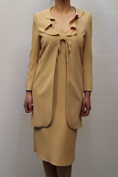 Picture of TAILLEUR MOSCHINO WOMAN A251581219 GIALLO