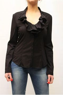 Picture of SHIRT ARMANI JEANS WOMAN N5C16 HB NERO