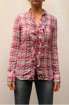 Picture of SHIRT AGLINI WOMAN A195.3 FUXIA