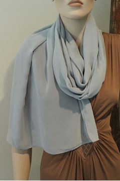 Picture of SCARF HANITA WOMAN M483 14 GRIGIO