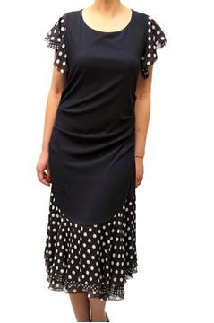 Picture of DRESS MARTA PALMIERI WOMAN P1.E620MSR BLU