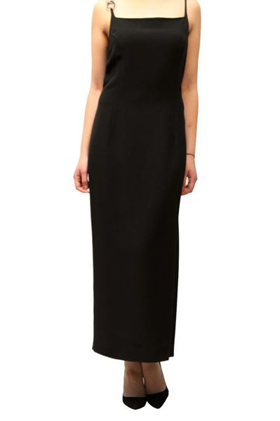 Picture of DRESS GAI MATTIOLO WOMAN 23566 NERO