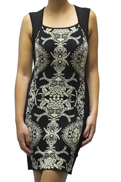 Picture of DRESS TWIN-SET WOMAN TA53GN NERO