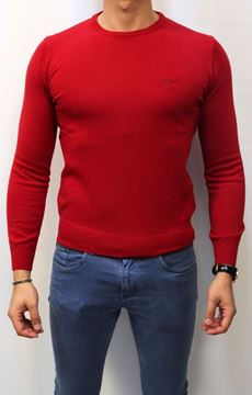 Picture of SWEATER HENRY COTTON'S MAN 90008 01 ROSSO