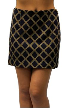 Picture of SKIRT PINKO WOMAN YAKON MARRONE BLU