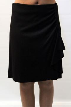 Picture of SKIRT NUVOLA WOMAN 5127 820 NERO
