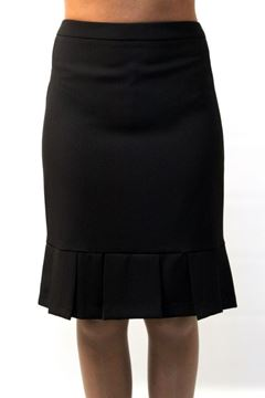 Picture of SKIRT NUVOLA WOMAN 5028 258 NERO