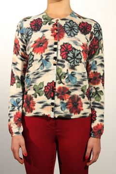 Picture of CARDIGAN MALìPARMI WOMAN JN3259 76080 FANTASIA