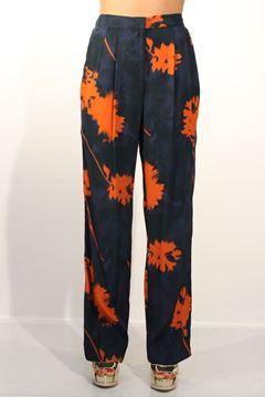 Picture of PANTS MALìPARMI WOMAN JH7098 52049 BLU ARANCIO