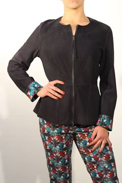 Picture of JACKET MALìPARMI WOMAN JC0028 01232 BLU