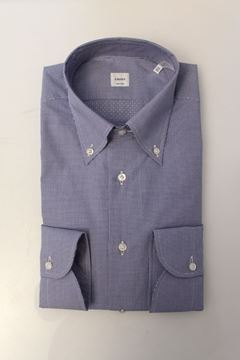 Picture of SHIRT CARREL MAN 6193 50 421 FANTASIA AZZURRO