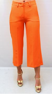 Picture of PANTS HANITA WOMAN HP622 ARANCIO
