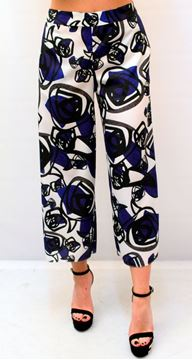 Picture of PANTS HANITA WOMAN HP636 BIANCO BLU