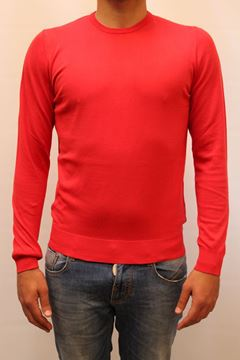 Picture of SWEATER ALPHA STUDIO MAN AU 3000C ROSSO