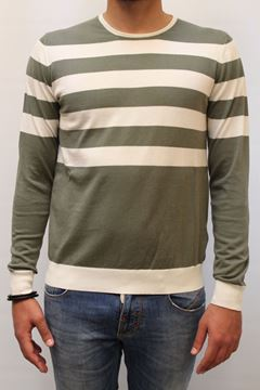Picture of SWEATER ALPHA STUDIO MAN AU 3080C VERDE PANNA