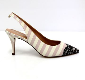Picture of SHOES TWIN-SET WOMAN CS6PCB NERO RIGHE