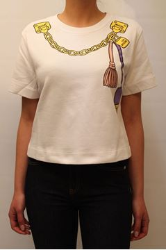 Picture of SWEAT LOVE MOSCHINO WOMAN W628602M3581 BIANCO