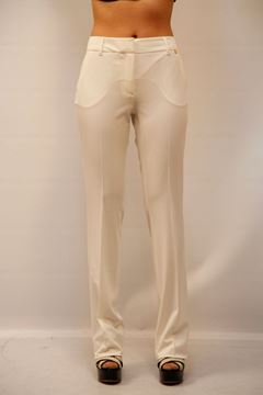 Picture of PANTS TWIN-SET WOMAN TS62JQ BIANCO
