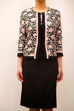 Picture of SUITS MARTA PALMIERI WOMAN 17X+615A NERO ROSA
