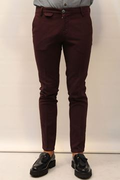 Picture of PANTS DIMATTIA MAN SORRENTO VIRT BORDEAUX