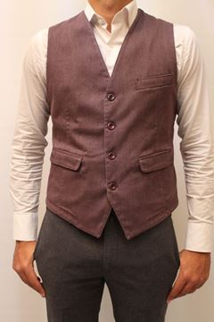 Picture of GILET BARBATI MAN GIL JHON BORDEAUX