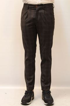 Picture of PANTS SEVENTY MAN PT0270 160085 QUADRI GRIGIO