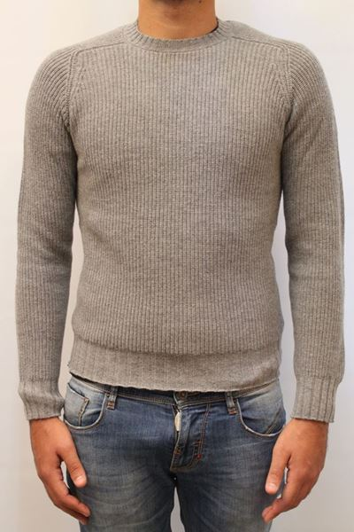 Picture of SWEATER ALPHA STUDIO MAN AU 4230C GRIGIO